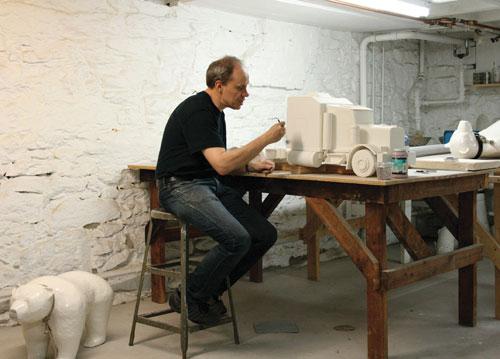 David Packer in Studio