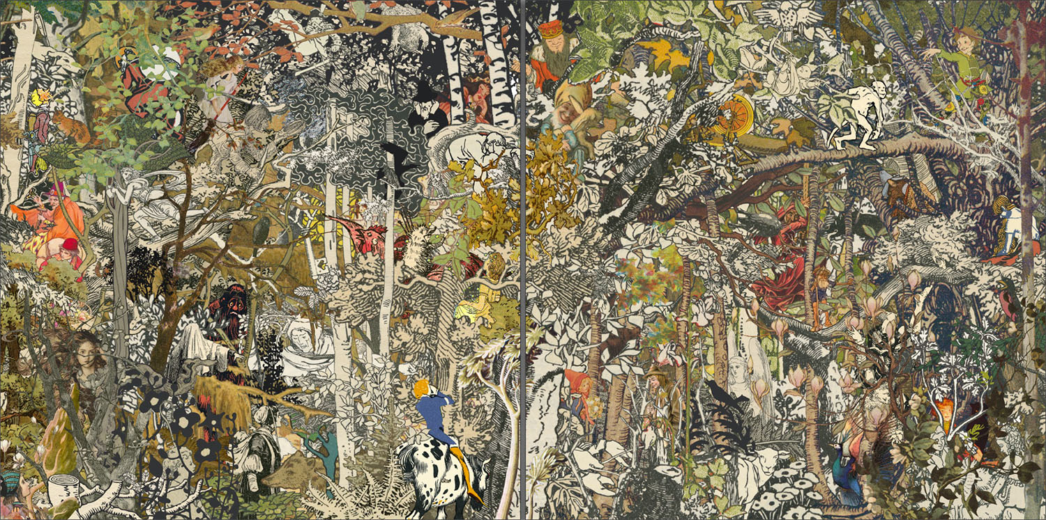 Grimms' Forest Collage