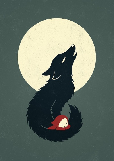 Little Red Riding Hood by Indre Bankauskaite