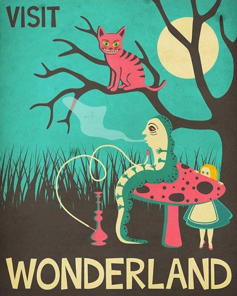 Jazzberry Blue, Alice in Wonderland