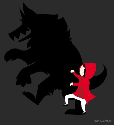 Little Red Riding Hood by Pinto Sketches