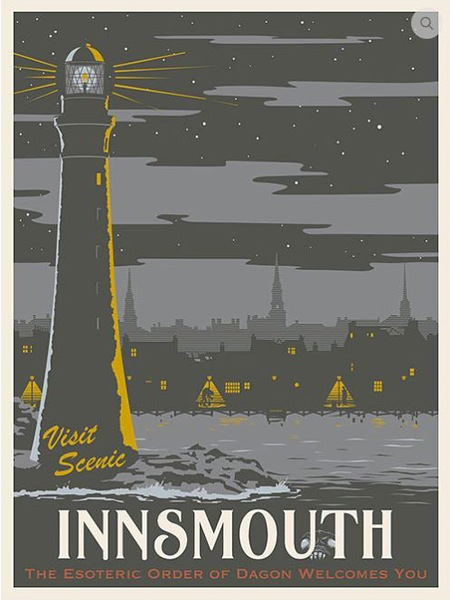 Steve Thomas, H. P. Lovecraft's The Shadow Over Innsmouth