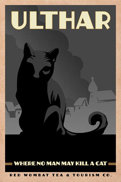 Ursulav, H. P. Lovecraft's The Cats of Ulthar
