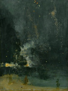 Whistler's Nocturne in Black and Gold