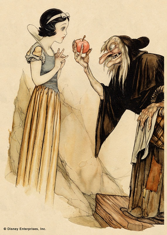 Disney's Snow White by Gustaf Tenggren