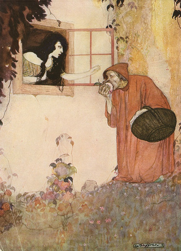 Snow White by Gustaf Tenggren