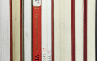 Nina Katchadourian Sorted Books